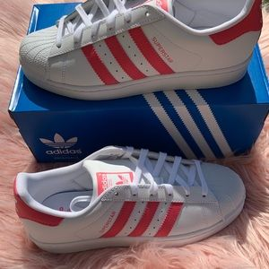 adidas Shoes - New Adidas Superstar Sneakers Pink/White